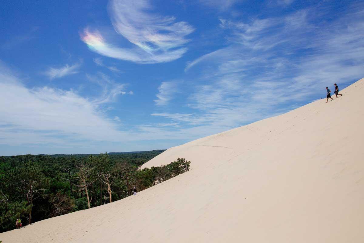 Prenez de la hauteur depuis la dune du Pilat