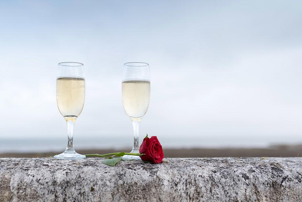 Demande en mariage au Château Mader sur le Bassin d'Arcachon